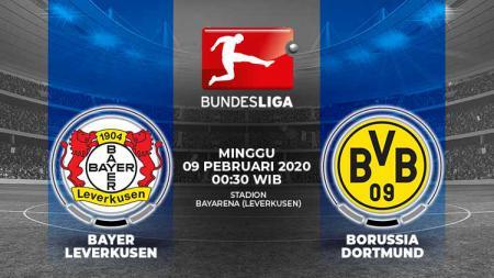 Berikut link live streaming pertandingan Bundesliga Jerman antara Bayer Leverkusen vs Borussia Dortmund. - INDOSPORT