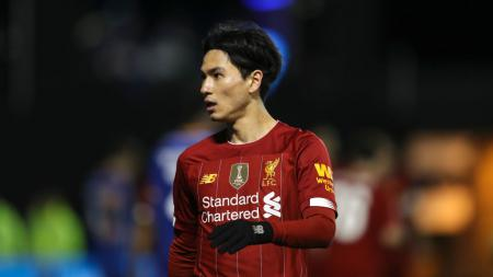Takumi Minamino menyebut sosok Sadio Mane dan Naby Keita sebagai orang yang membantunya beradaptasi dengan cepat di Liverpool. - INDOSPORT