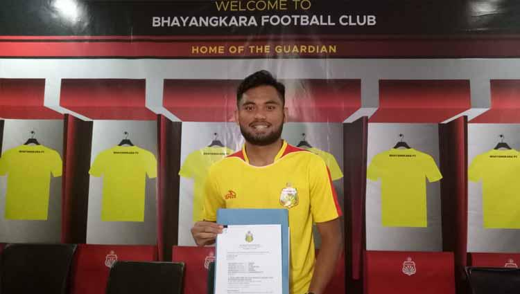 Saddil Ramdani, resmi gabung ke Bhayangkara FC. Copyright: Istimewa