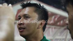 Indosport - Presiden Persebaya, Azrul Ananda saat perkenalan tim untuk liga 1 2020.