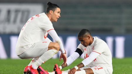 Penjaga gawang Juventus, Wojciech Szczesny, sebut kekalahan memalukan Verona di Serie A Liga Italia memberikan dampak besar bagi tim. - INDOSPORT