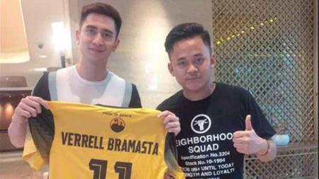 Akrab dengan pemain bintang, Verrell Bramasta diminta Rizky Pora untuk menjadi striker Barito Putera. - INDOSPORT