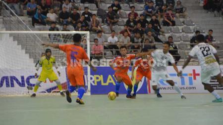 Bank Sumut FC vs Mutiara FC di Pro Futsal League 2020. - INDOSPORT