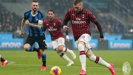 Inter Milan vs AC Milan. - INDOSPORT