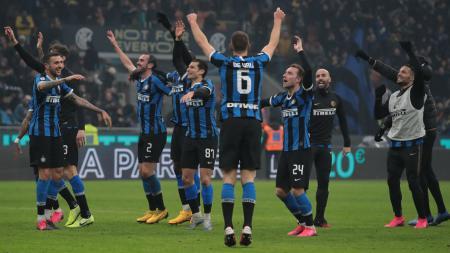 Raksasa Serie A Liga Italia, Inter Milan akan menghadapi Lazio, Senin (17/02/20). - INDOSPORT