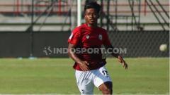 Indosport - Irfan Jauhari saat tampil di Bali U-20 International Cup 2019 lalu. Foto : Nofik Lukman Hakim