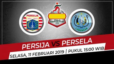 Prediksi pertandingan Grup B Piala Gubernur Jatim 2020 antara Persija Jakarta vs Persela Lamongan. - INDOSPORT