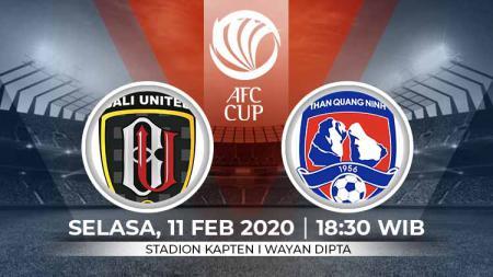 Pertandingan antara Bali United vs Than Quang Ninh (Piala AFC 2020). - INDOSPORT