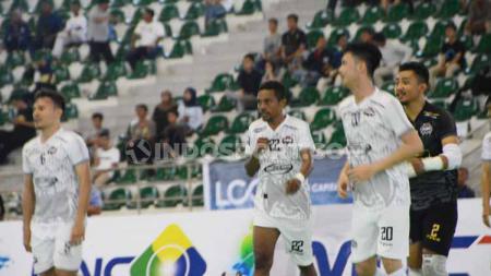 Klub futsal asal Minahasa, Red Manguni, akhirnya berhasil memetik kemenangan perdana mereka di pentas Pro Futsal League 2020. - INDOSPORT