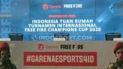 Indosport - Indonesia resmi menjadi tuan rumah perhelatan Free Fire Champions Cup 2020 pada April 2020 mendatang.