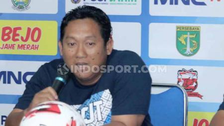 Pelatih Persela, Didik Ludiyanto. - INDOSPORT