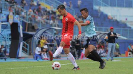 Berikut hasil pertandingan perdana Grup B Piala Gubernur Jawa Timur (Jatim) 2020 antara Persija Jakarta vs Persela Lamongan, Selasa (11/2/20). - INDOSPORT