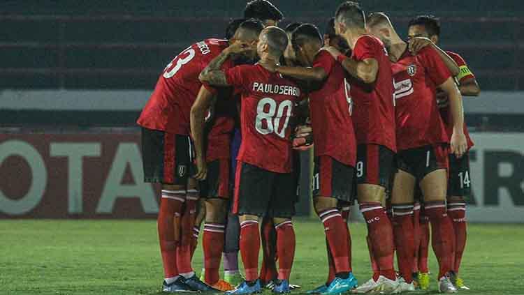 Bali United vs Tan Quang Ninh Copyright: Ofisial Bali United