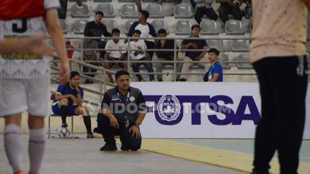 Pelatih Bank Sumut FC, Qusmaini Noor. - INDOSPORT