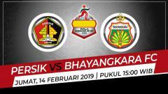 Indosport - Link live streaming pertandingan Grup A Piala Gubernur Jatim 2020 antara Persik Kediri vs Bhayangkara FC.
