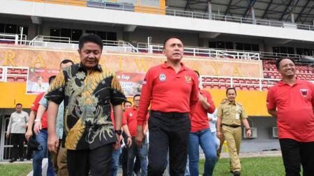 Ketua PSSI, M. Iriawan atau Iwan Bule akan memastikan kebenaran rumor yang menyatakan Bali mundur dari penyelenggaraan Piala Dunia U-20. - INDOSPORT