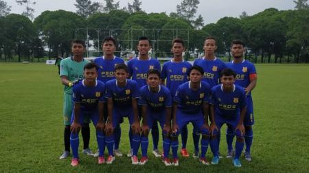 Tim PSDS Deli Serdang di putaran nasional Piala Soeratin U-17. - INDOSPORT