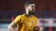 Indosport - Pemain naturalisasi Borneo FC Diego Michiels.