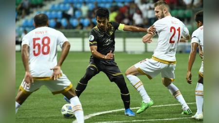 Situasi pertandingan Tampines Rovers vs PSM Makassar di Piala AFC 2020, Rabu (12/02/20). - INDOSPORT