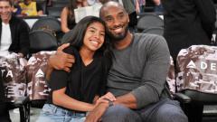 Indosport - Mendiang Kobe Bryant dan sang putri, Gianna.