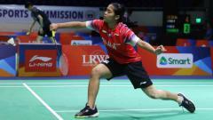 Indosport - Bertekad revans dari Ratu bulutangkis dunia asal Chinese Taipei, Tai Tzu Ying di All England 2020, pebulutangkis Gregoria Mariska siap melakukan hal nekat.