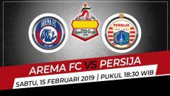 Indosport - Prediksi pertandingan Piala Gubernur Jatim antara Arema vs Persija pada Sabtu (15/2/2020), di mana duel ini jadi pertarungan Macan dan Singa di Liga Indonesia.
