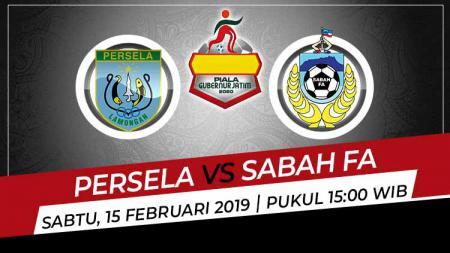Hasil pertandingan laga pamungkas Grup B Piala Gubernur Jatim 2020 antara Persela lamongan vs Sabah FA, Sabtu (15/2/2020) sore. - INDOSPORT