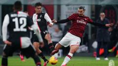 Indosport - Ramalan starting XI raksasa sepak bola Serie A Liga Italia, AC Milan, untuk menghadapi Juventus dalam laga 'big match' semifinal Coppa Italia 2019-2020.