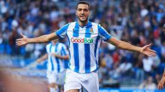 Indosport - Real Sociedad sukses tumbangkan Mirandes di leg pertama semifinal Copa del Rey 2019-2020.