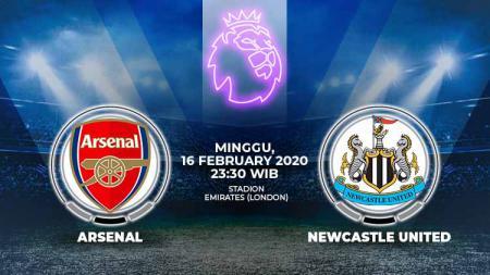 Pentas Liga Inggris pada Minggu (16/02/20) bakal memainkan laga lanjutan pekan ke-26 antara Arsenal vs Newcastle United. - INDOSPORT