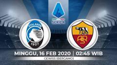 Indosport - Prediksi pertandingan Serie A Liga Italia antara Atalanta vs AS Roma.