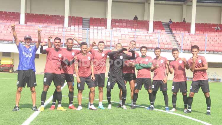Tim skuat PSIS Semarang. Copyright: Alvin Syaptia Pratama/INDOSPORT