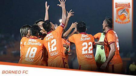 Profil Tim Pusamania Borneo FC untuk Liga 1 2020. - INDOSPORT