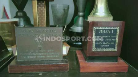 Piagam Nehru Memorial International Badminton Championship 1976 yang pernah diikuti almarhum Tati Sumirah.