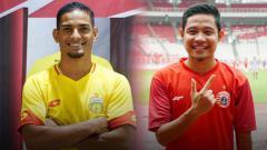 Indosport - Renan Silva serta Evan Dimas, dua nama itu sepertinya bisa menggambarkan kisah jawara yang tertukar di bursa transfer jelang Liga 1 2020, antara Bhayangkara FC dan Persija Jakarta.