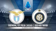 Indosport - Laga seru akan tersaji antara Lazio vs Inter Milan dalam lanjutan Serie A Italia, Senin (17/2/20) dini hari WIB.