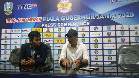 Pelatih klub Liga 1 Persik Kediri, Joko Susilo, menginginkan skuat asuhannya untuk cooling down alias tenang. - INDOSPORT