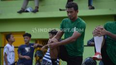 Indosport - Bijahil Chalwa, melakukan trial bersama klub Liga 2 PSMS Medan.
