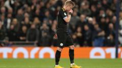 Indosport - Klub Liga Inggris, Manchester City masih menunggu update kondisi Kevin De Bruyne yang sempat diganti di laga Timnas Belgia kontra Inggris.