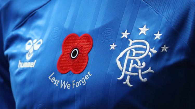 Jersey Glasgow Rangers Copyright: Andrew Milligan/PA Images via Getty Images
