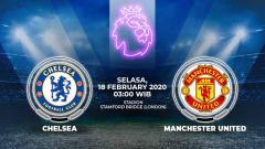 Indosport - Link Streaming Pertandingan Liga Inggris: Chelsea vs Manchester United