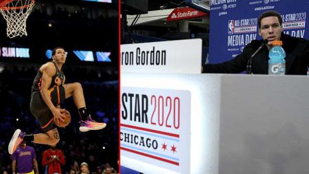 Bintang basket NBA dari tim Orlando Magic, Aaron Gordon. - INDOSPORT