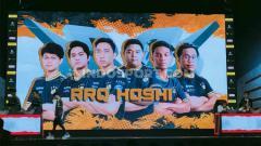 Indosport - Berikut rekap hasil pertandingan dan klasemen turnamen eSports MPL Season 5 hari pertama pekan keempat pada Sabtu (29/02/20), RRQ menguasai puncak klasemen.