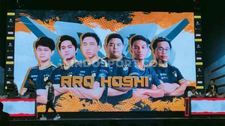 Di tengah wabah virus corona, tim eSports Rex Regum Qeon (RRQ) mengakhiri babak regular MPL Indonesia season 5 dengan hasil gemilang. - INDOSPORT