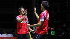 Indosport - Jadi penentu kemenangan Indonesia, Media Malaysia menyanjung performa duet pasangan dadakan Mohammad Ahsan/Fajar Alfian di final BATC 2020.