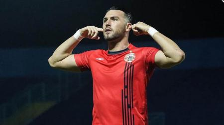 Cerita agen pemain Indonesia bernama, Gabriel Budi, yang sukses membujuk Marko Simic supaya mau main di Persija Jakarta. - INDOSPORT