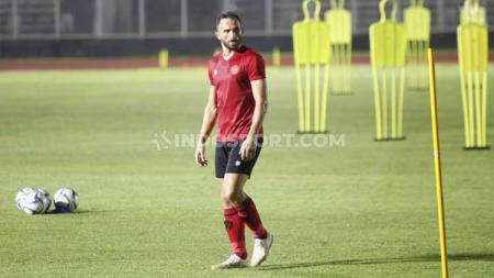 Penyerang Bali United, Ilija Spasojevic menyambut positif wacana penerapan regulasi pemain U-20 pada lanjutan kompetisi Liga 1 2020. - INDOSPORT
