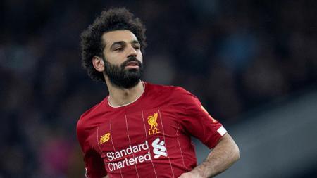 Pemain megabintang klub Liga Inggris, Liverpool, Mohamed Salah. - INDOSPORT
