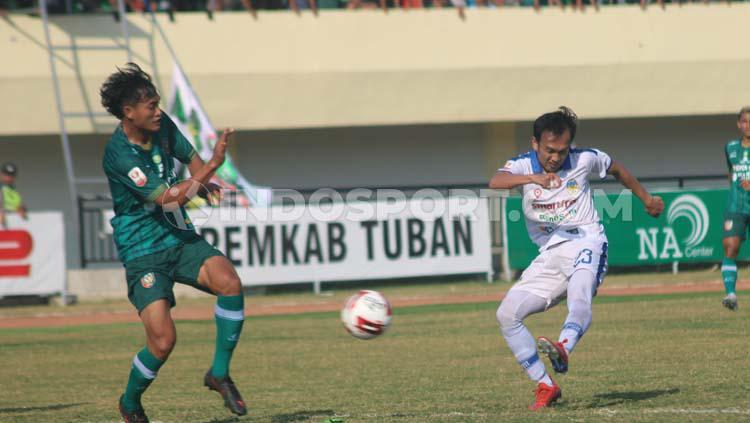 Klub Liga 2, PSIM Yogyakarta saat melakukan pertandingan uji coba Copyright: Ronald Seger/INDOSPORT