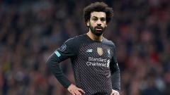 Indosport - Meskipun mencetak gol, Salah belum bisa menggeser posisi Aubameyang dan Vardy di puncak daftar top skor sementara.